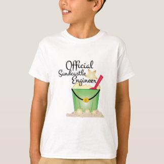 Ingénieur de pâté de sable t-shirt
