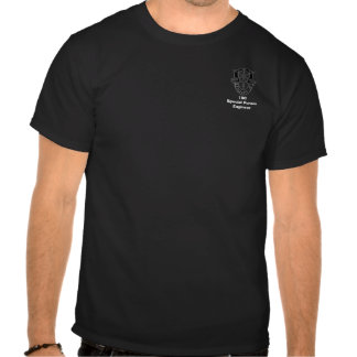 ingénieur des forces 18C spéciales T-shirts