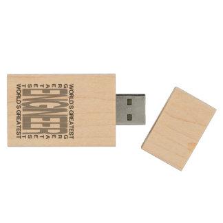 Ingénieur Extraordinaire Clé USB 2.0 En Bois