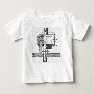 Ingénieur mécanique antique d'outil t-shirt pour bébé