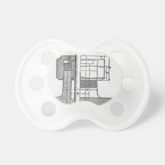 Ingénieur mécanique antique d'outil tétine pour bébé