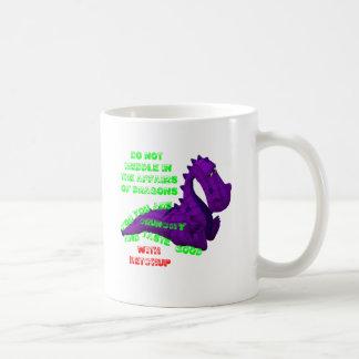 Ingérence dans des affaires de dragon mug