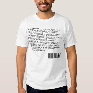 Ingrédients de corps humain : Tableau périodique T-shirts