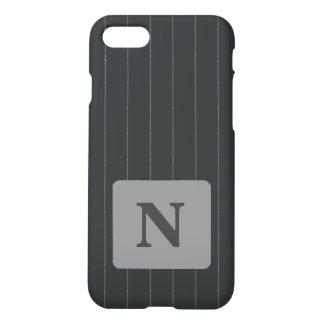 Initiale de coutume de cas de l'iPhone 7 de filet Coque iPhone 8/7