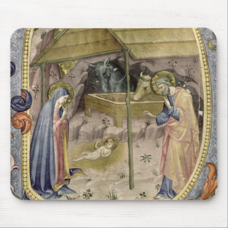 "Initiale ""P"" De de Corale/Graduale no.5 Historiate Tapis De Souris"