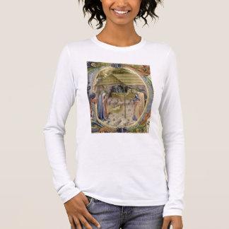 """Initiale """"P"""" De de Corale/Graduale no.5 T-shirt À Manches Longues"""