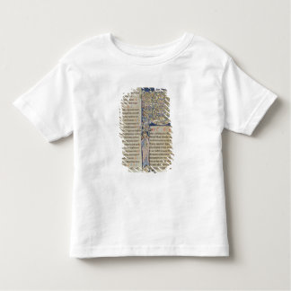 Initiale 'P de Historiated T-shirt Pour Les Tous Petits