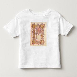 Initiale 'P T-shirt Pour Les Tous Petits