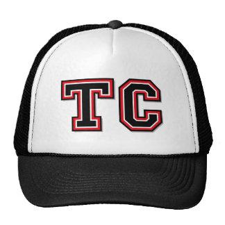"""Initiales """"comité technique """" de monogramme casquette trucker"""