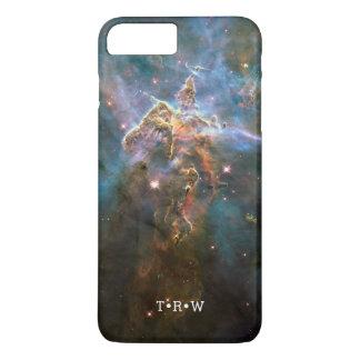 Initiales customisées par nébuleuse de galaxie coque iPhone 7 plus