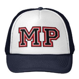 """Initiales de """"député britannique"""" de monogramme casquettes de camionneur"""