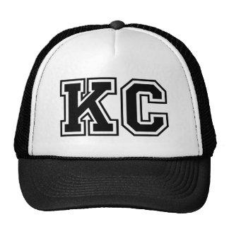 """Initiales du monogramme """"kc"""" casquette"""