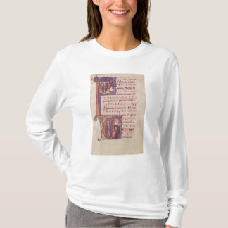 Initiales 'P de Historiated T-shirt
