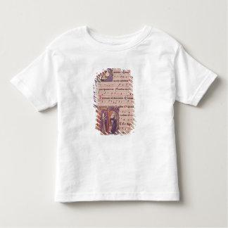 Initiales 'P de Historiated T-shirt Pour Les Tous Petits