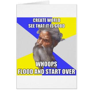 Inondation de Dieu de Troll Cartes