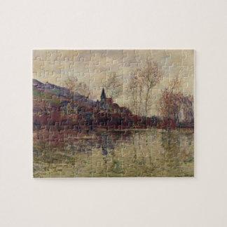 Inondations de Claude Monet | chez Giverny Puzzle