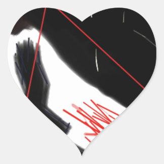 Inquiétude Sticker Cœur