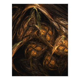 Insecte d'art abstrait de Terre Prospectus 21,6 Cm X 24,94 Cm