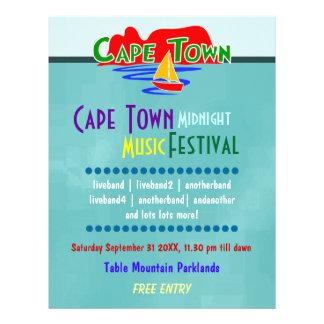 Insecte de coutume de festival de musique de Cape Prospectus 21,6 Cm X 24,94 Cm