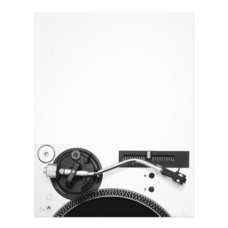 Insecte de partie de musique du DJ Prospectus 21,6 Cm X 24,94 Cm