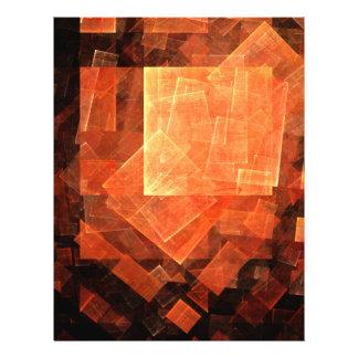 Insecte léger d'art abstrait de fenêtre prospectus 21,6 cm x 24,94 cm