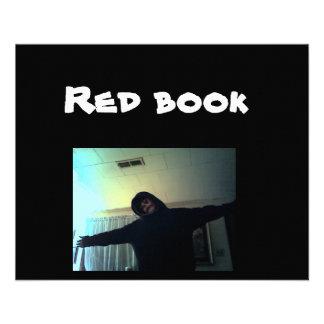 Insecte rouge de livre prospectus personnalisés