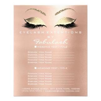 Insecte VIP de scintillement d'or de salon de Prospectus 11,4 Cm X 14,2 Cm