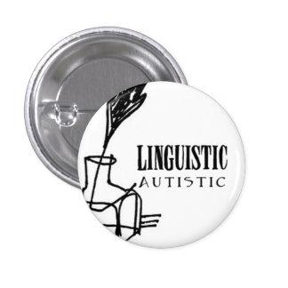 Insigne autiste linguistique badge