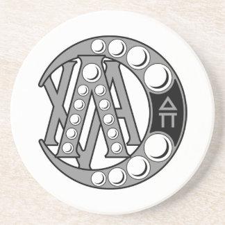 Insigne d'alpha de Chi de lambda Dessous De Verres
