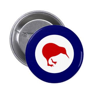 insigne d'aviation militaire de rondeau de kiwi de badge rond 5 cm