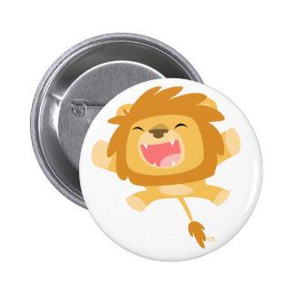 Insigne de attaque subit de bouton de lion de badge