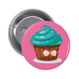 Insigne de bouton de petit gâteau de ruban badges