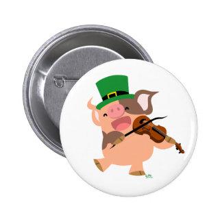 Insigne de bouton de porc de violoniste du jour de badges