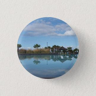 Insigne de bouton de vue de Poolside de Ténérife Badge