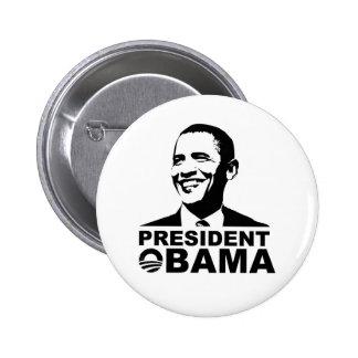 Insigne de bouton du Président Obama Badge Rond 5 Cm