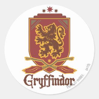 Insigne de Gryffindor QUIDDITCH™ Sticker Rond