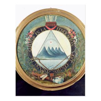Insigne de la fédération du Guatemala Carte Postale