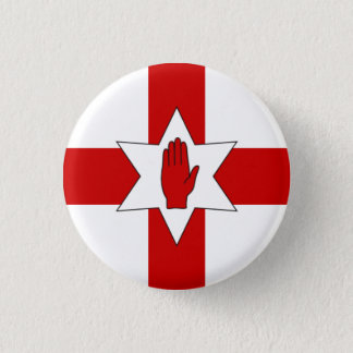 Insigne de l'Irlande du Nord - étoile et main sur Badges