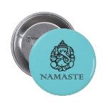 Insigne de Namaste Ganesh Pin's Avec Agrafe