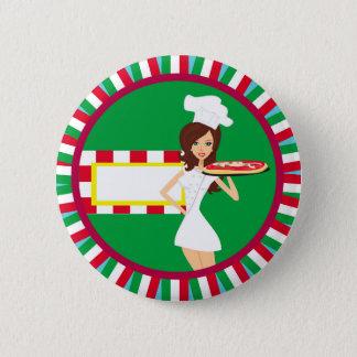 Insigne de partie de pizza badge
