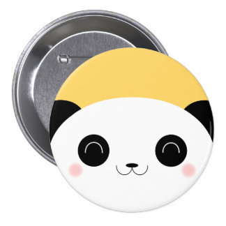 Insigne de rougissement de Pin de panda de coup Badges