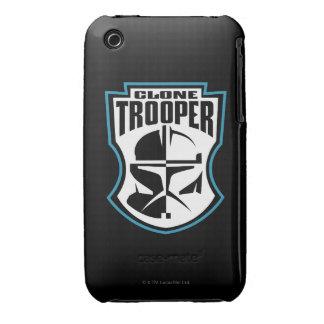 Insigne de soldats de la cavalerie de clone coque iPhone 3 Case-Mate