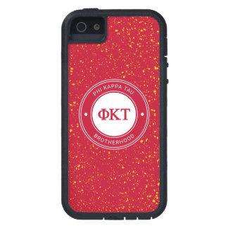 Insigne de Tau | de Kappa de phi Coque Tough Xtreme iPhone 5
