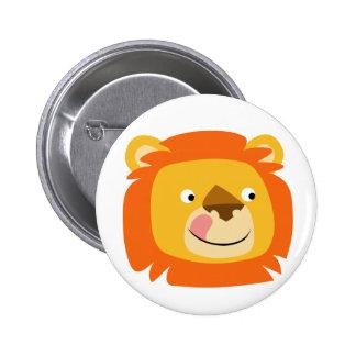 Insigne délicieux de bouton de lion pin's