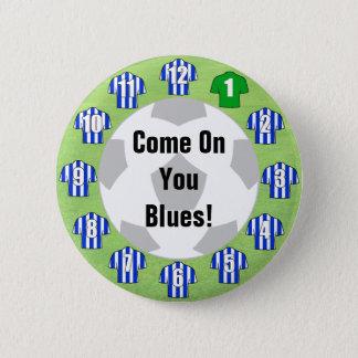 Insigne d'équipe de football avec les chemises badge