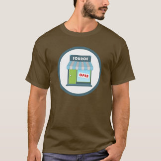 Insigne d'Open Source T-shirt