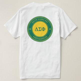 Insigne du phi | de sigma de delta t-shirt