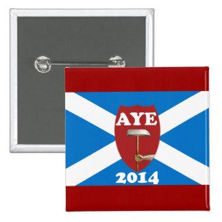 Insigne écossais de drapeau de l'indépendance de s badges