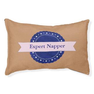 Insigne expert bleu de Napper Lit Pour Animaux