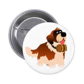 Insigne mignon de bouton de St Bernard de bande de Pin's Avec Agrafe